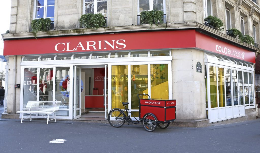 Clarins Color Garden Pop-up store